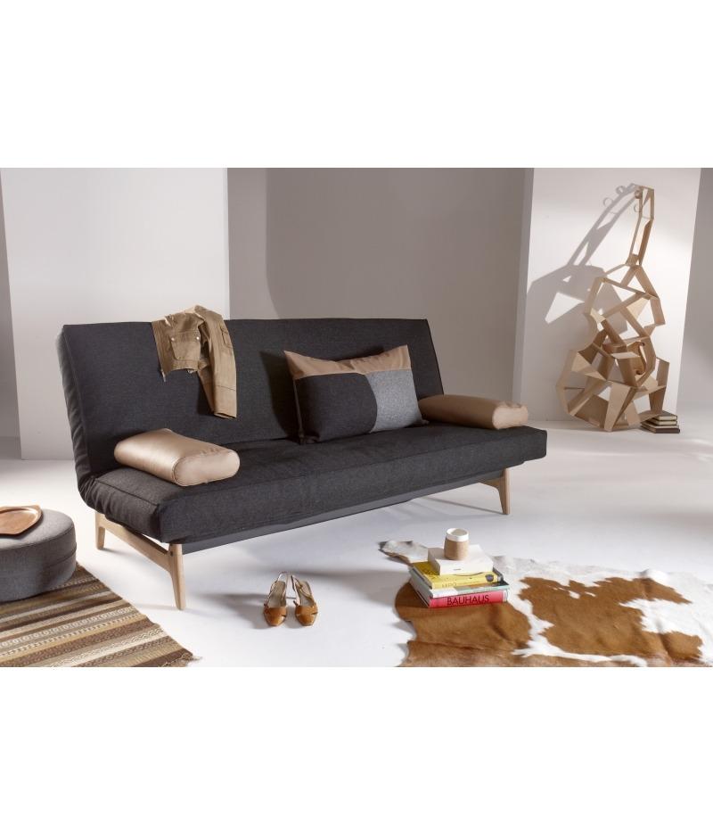 almeria bettsofa mit soft spring matratze 140x200 cm. Black Bedroom Furniture Sets. Home Design Ideas